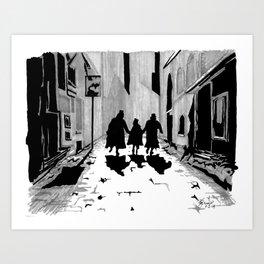Oliver's Fate Art Print