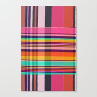 plaid Canvas Prints featuring Plaid by Love2Snap