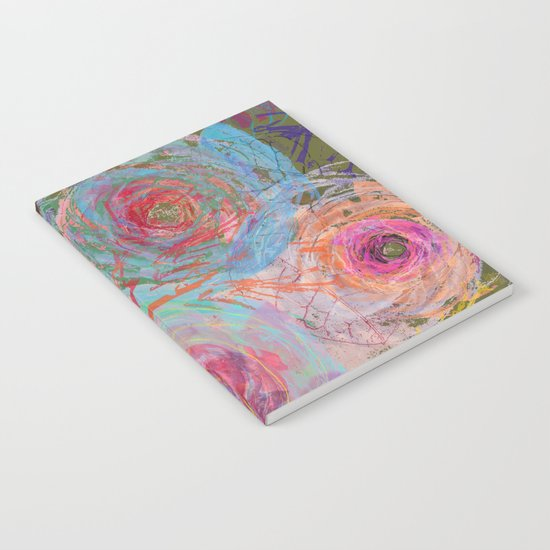 Floral abstract(38) Notebook
