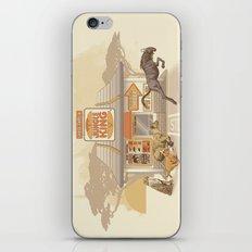 Fast Food (Jungle King) iPhone & iPod Skin