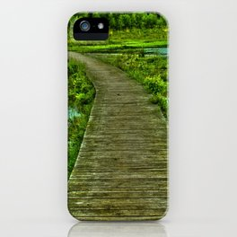 Green world  iPhone Case