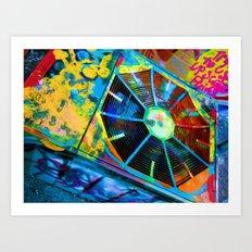100 Dollar Bing Bang Art Print