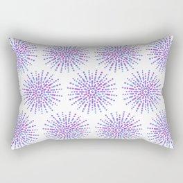 Symmetrical Shapes - Confetti Burst Rectangular Pillow