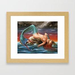Sirena Framed Art Print