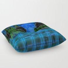 Blue Moon Floor Pillow