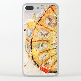 Sea Swings... Clear iPhone Case
