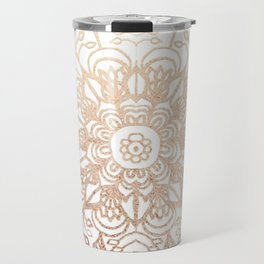 Mandala Gold Shine I Travel Mug