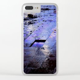 CLARITY OF THE DARK Clear iPhone Case