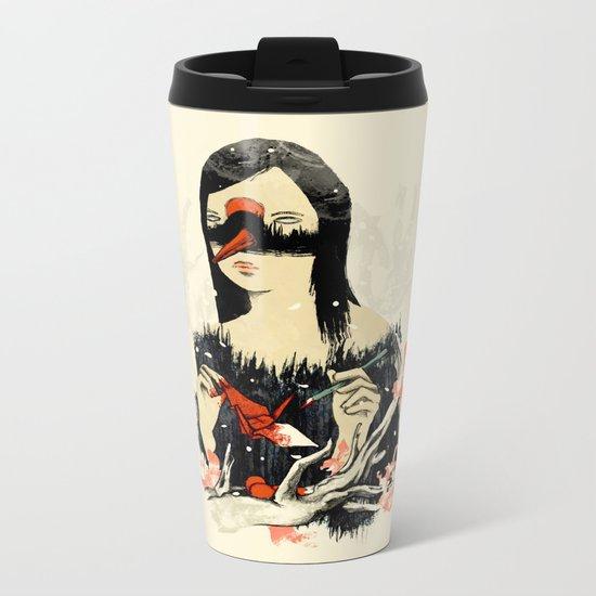 The Crane Wife Metal Travel Mug