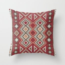 Traditional Moroccan Rud Design C5 Throw Pillow