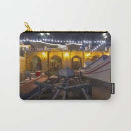 St Julians boat by Night  Carry-All Pouch