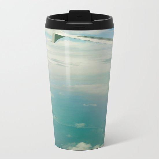 Tropical Getaway Metal Travel Mug