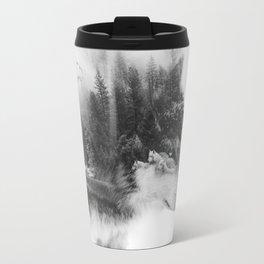 Wolf Stalking Travel Mug