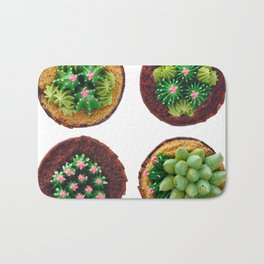 Decorated fancy cakes Bath Mat