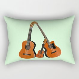 Acoustic instruments Rectangular Pillow