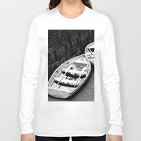 boats Long Sleeve T-shirts featuring Boats by Vishal Wadhwani