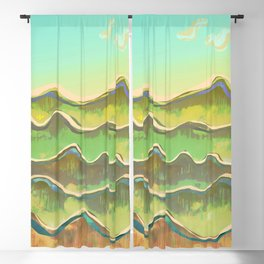 Magic Flight over the Sea of Clouds Blackout Curtain