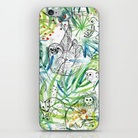 Endangered in the Rainforest iPhone Skin