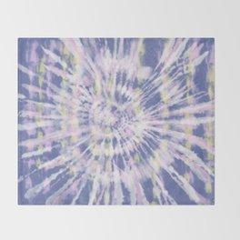 Indigo Tie-Dye Throw Blanket