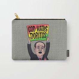 God Hates Doritos Carry-All Pouch