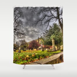 Greyfriars Kirk Church Edinburgh Shower Curtain