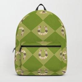 Gold horseshoe Backpack