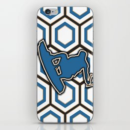 Wakeboard Stunt Water Sports Pattern Design iPhone Skin