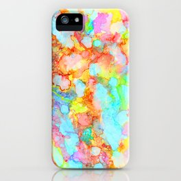 unicorn marble iPhone Case