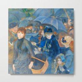 "Auguste Renoir ""The Umbrellas (French: Les Parapluies)"" Metal Print"