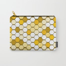 Hexagon Honey Comb Carry-All Pouch