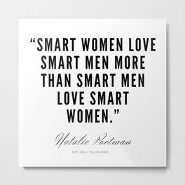 1   | Natalie Portman Quotes | 190721 Metal Print