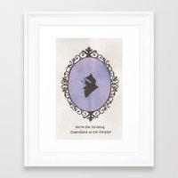 rocket racoon Framed Art Prints featuring Rocket by JadeJonesArt