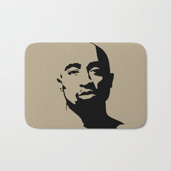Tupac's Real Dream Bath Mat