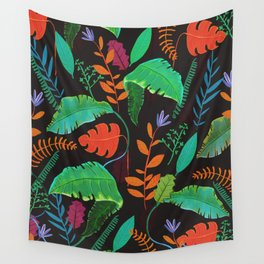 Nature at Night Wall Tapestry
