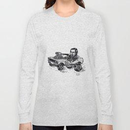 Rockabilly Monter Car Long Sleeve T-shirt