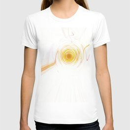 Sunset_Digital_Circle_Wave_Ripple T-shirt