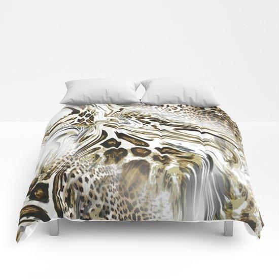 Trend Leopard Pattern Comforters