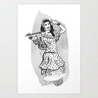 Nagwa Art Print