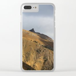 Winter is on it's way Clear iPhone Case