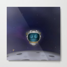 Abo on space Metal Print