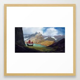 Mountain Lake 2018 Framed Art Print