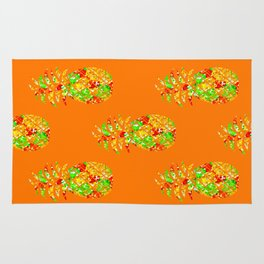 Punch Of Pineapple Rug