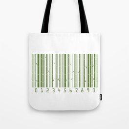 Bamboo Barcode Tote Bag