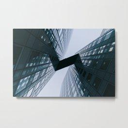 Modern Geometric Architecture Photograph Metal Print