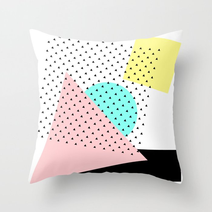 Arty Throw Pillow