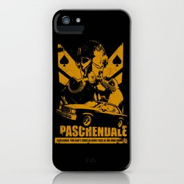 PASCHENDALE iPhone Case