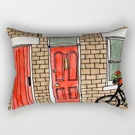 Number 7 Rectangular Pillow