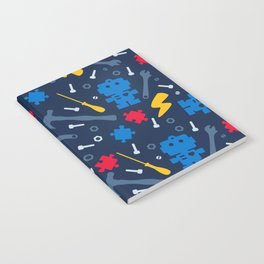 Young Engineer - Blue, Red and Yellow Notebook