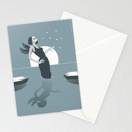 black swamp Stationery Cards