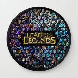 League of Legends - Champions! Wall Clock